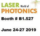 Visit us- Laser World of Photonics-Munich  at Booth # B1.527